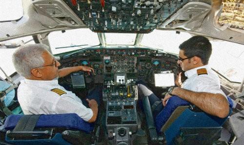 pilots-arguing