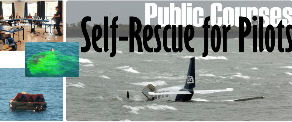 Pilot Survival Training, Self-Rescue