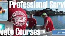 Professional Services and Courses, Private Courses, Aquatics and Aviation