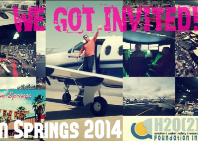 We got invited to present at 2014 Aviation Expo in Palm Springs!